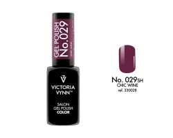 GEL POLISH COLOR NO. 029 CHIC WINE